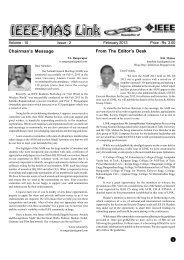 February 2013 Edition - Madras Section Newsletter