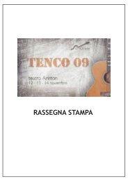 RASSEGNA STAMPA - Club Tenco