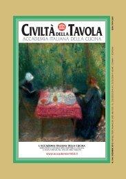 Dicembre 2012 - Accademia Italiana della Cucina