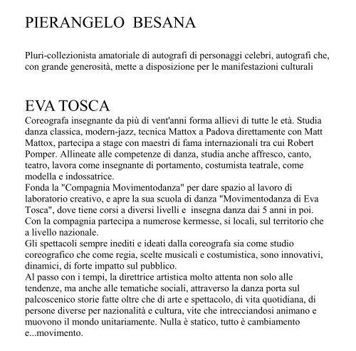 PROGRAMMA DELLA MANIFESTAZIONE (formato PDF)
