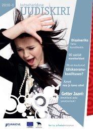 Kutsehariduse uudiskiri 2010-1 - Innove