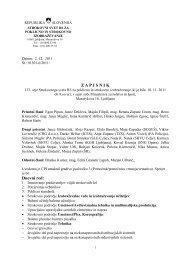 republika slovenija - Ministrstvo za izobraževanje, znanost in šport