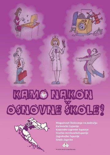 Kamo nakon osnovne škole - Hrvatski zavod za zapošljavanje