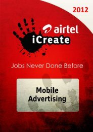 Mobile Advertising - Airtel
