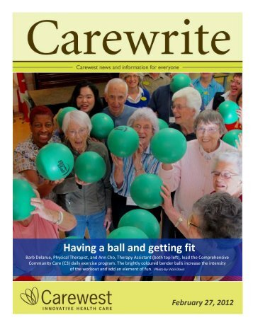 February 2012 - Carewest