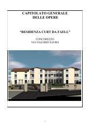 """capitolato generale delle opere """"residenza curt da ... - Immobiliare.it"""