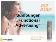 Sunlounger - K+M Werbemittel