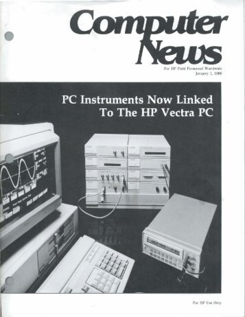 PC Instruments Now Linked - HP Computer Museum