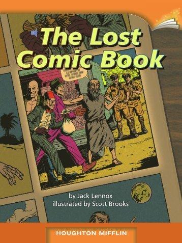 Lesson 16:The Lost Comic Book