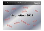 Neuheiten 2012 Vorlage [Kompatibilitätsmodus] - K+M Werbemittel
