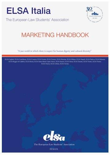 HandBook MKT ELSA Italia
