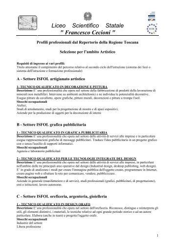 """Liceo Scientifico Statale """" Francesco Cecioni """" - Liceo Scientifico """"F ..."""