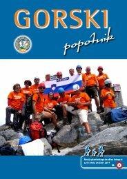 Gorski popotnik leto 2011 sevilka 3 - Planinsko društvo Integral