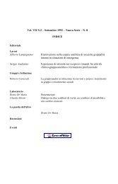 Vol. VII N.2 – Settembre 1992 – Nuova Serie – N. 8 INDICE Alberto ...