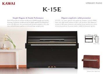 Simple Elegance & Sturdy Performance Elegante semplicità e - Kawai