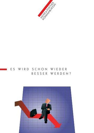 01 MP-Flyer Es wird besser.qxd - Meier & Partner Kommunikation