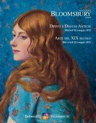 dipinti e disegni antichi arte del xix secolo - Bloomsbury Auctions