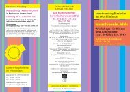 kunstverein.kids Workshops für Kinder und Jugendliche Sept. 2012 ...