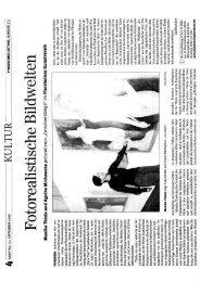 Presse Artikel - Kunstverein Pforzheim im Reuchlinhaus eV
