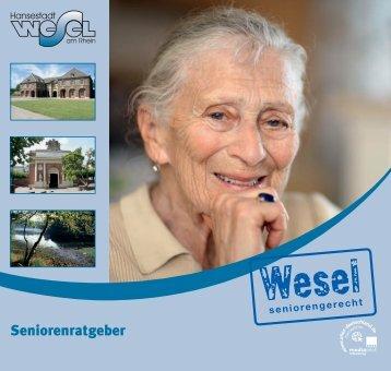 Seniorenratgeber der Hansestadt Wesel am Rhein (6.4130859375 ...