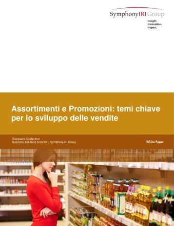 Assortimenti e Promozioni: temi chiave per lo sviluppo delle ... - IRI