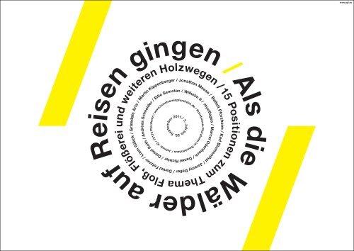 A ls d ie W älder auf R eisen gingen / - Kunstverein Pforzheim im ...