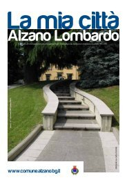 Alzano La mia città Primavera 2010 (.pdf 3MB) - Comune di Alzano ...