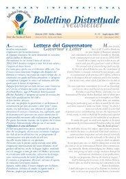 bollettino distrettuale luglio agosto 2002 - Carlo Marullo di Condojanni