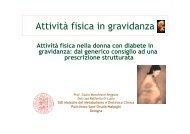 Attività fisica in gravidanza - Infodiabetes.it