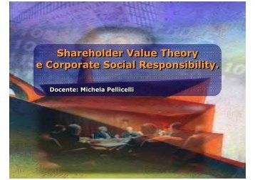 Slide integrative - Economia