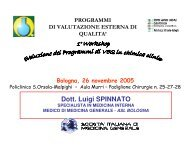 patologia renale - L. Spinnato - Policlinico S.Orsola-Malpighi