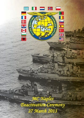 Operation Active Endeavour - Allied Maritime Command Naples - Nato