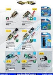 car accessories catalog - SUPERRACE