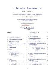 chemmacros v3.6b - documentazione in italiano - CTAN