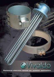 Resistenze elettriche speciali per qualsiasi applicazione - Vivaldo