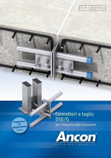 Connettori a Taglio, Ancon DSD/Q - Ancon Building Products
