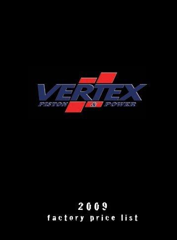 Vertex listino 2009.indd - vxmoto