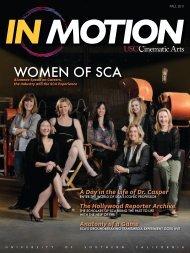 WomEn of SCA - USC School of Cinematic Arts - University of ...