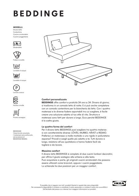 Beddinge Divano Letto Ikea.Beddinge Ikea