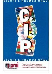 giochi e promozionali giochi e promozionali - PMI srl