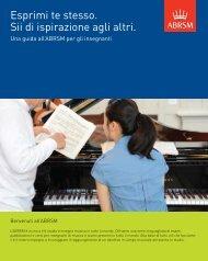 Guida all'ABRSM per gli insegnanti