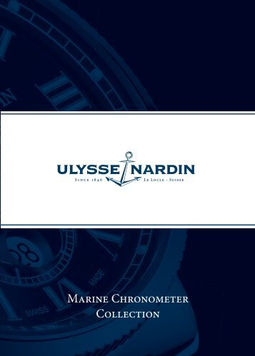 Setting Instructions - Ulysse Nardin