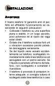 Telefono Petit - Manuale d'uso - Telecom Italia - Page 4