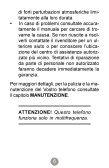 Telefono Petit - Manuale d'uso - Telecom Italia - Page 5