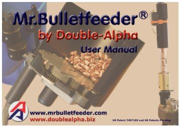 installare e regolare il tubo di caduta - Mr. Bulletfeeder