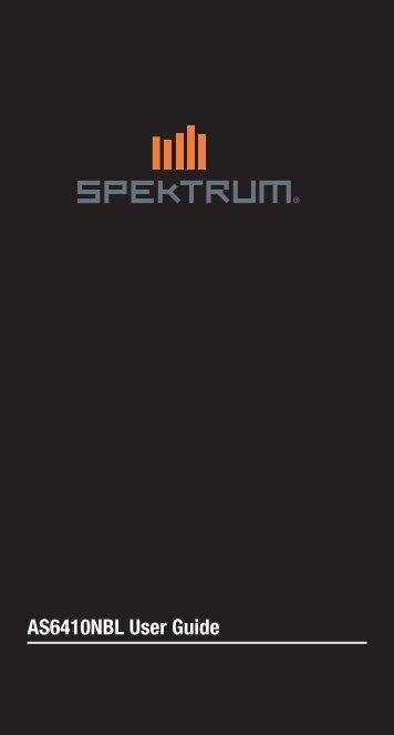 AS6410NBL Guida dell'utente - Spektrum