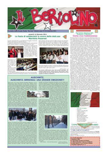 Giornale medie febbraio 2011 per Stampa.pmd - Bertola