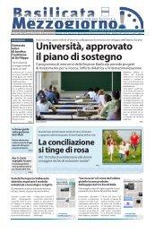 Edizione del 28/11/2012 - Regione Basilicata