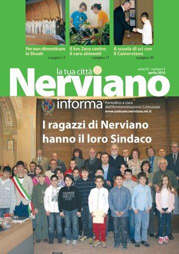 Anno IV - Numero 1 Aprile 2010 - Comune di Nerviano
