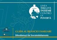 GUIDA AL BILANCIO FAMILIARE - Movimento Difesa del Cittadino